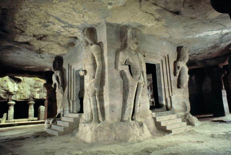 Elephanta Caves Rock Cut Stone Sculptures
