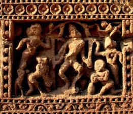 Sculptures of RajaRani Temple